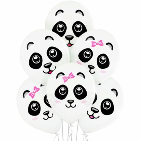 Воздушный шар с рисунком Панды