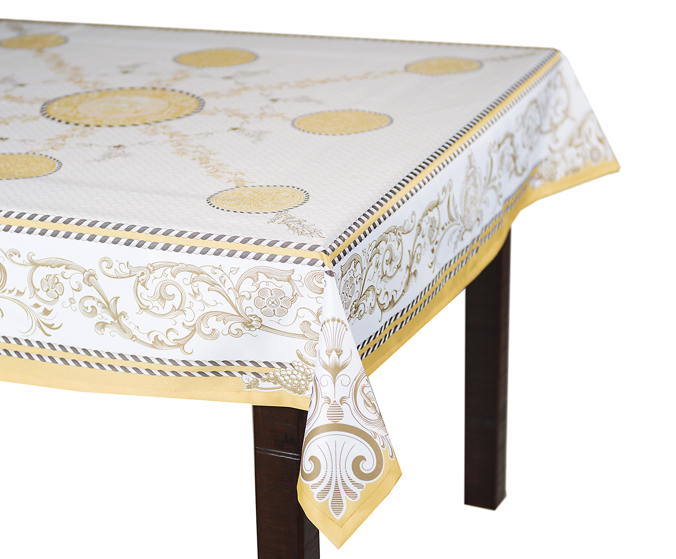Кухня Скатерть 140x220 Blonder Home Laroux желтая skatert-140x220-blonder-home-laroux-zheltaya-ssha-rossiya.jpg