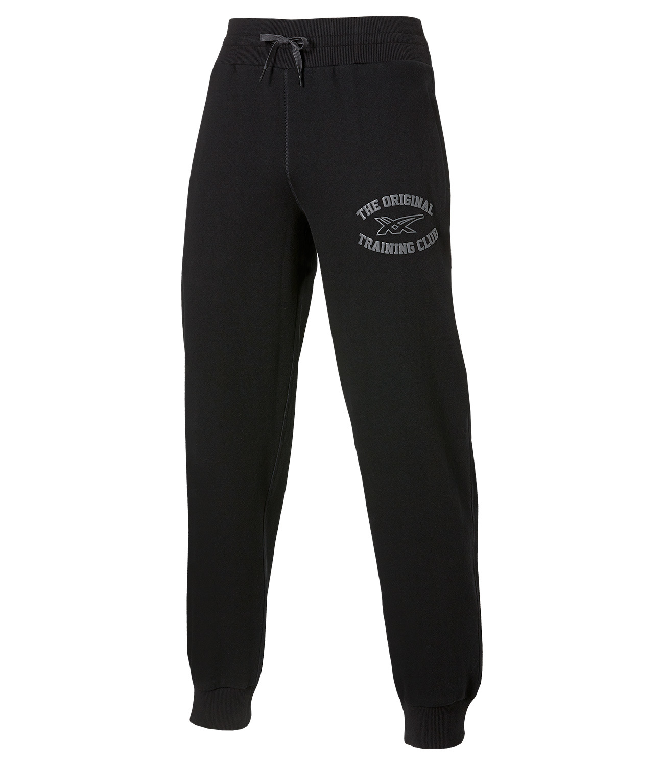 Мужские спортивные штаны Asics Graphic Cuffed Pant (131534 0904) черные