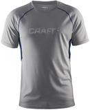 Футболка беговая Craft Prime Run Grey мужская