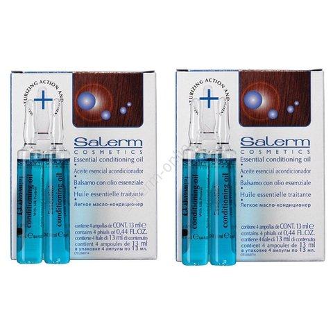 Ампулы Легкое Масло-Кондиционер Essential Conditioning Oil 2 уп.