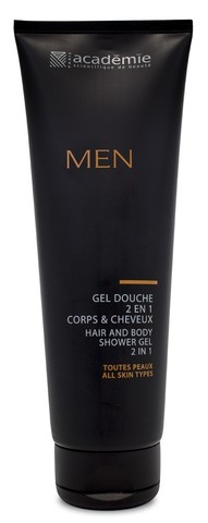 Academie Men Hair & Body Shower Gel 2 in 1