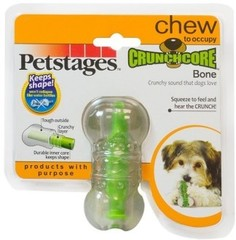 """Игрушка для собак Petstages """"Хрустящая косточка"""" резиновая 8 см очень маленькая"""