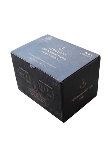 Уголь кокосовый «Craft», 22 мм (96 шт., 1 кг.)