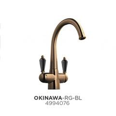 Смеситель для кухни с подводкой для фильтра Omoikiri Okinawa-RG-BL 4994076 фото