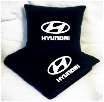 Плед в чехле с логотипом Hyundai