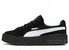 Кеды Женские Puma X Rihanna Creeper Black White