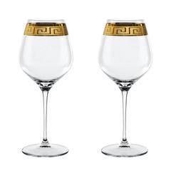 Набор из 2 хрустальных фужеров для вина MUSE Burgundy, 840 мл