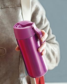 Термо-бутылка Aladdin FLIP & SIP (0.35 литра) фиолетовая