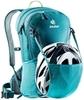 Картинка рюкзак велосипедный Deuter Race Exp Air 14+3 Petrol-Arctic