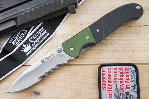 Складной нож CRKT Ignitor Sport 6855 (насечки)