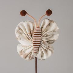 Стикер бабочка ручной работы 302704 G