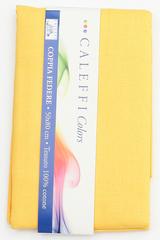 Наволочки 2шт 70х70 Caleffi Tinta Unita pulcino желтые