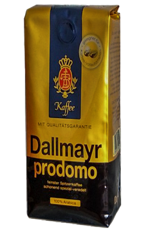 Кофе в зернах Dallmayr Prodomo 500 2