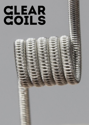 Clear Coils: Staggered MTL Фехраль 0,68Ω (пара)