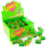 Жвачка Love is — Яблоко-Лимон (блок 100 шт.)