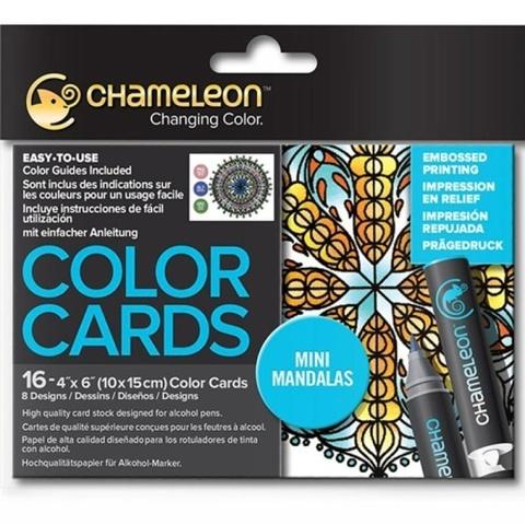 Раскраска-склейка Chameleon Mini Mandalas/ Мини-Мандалы