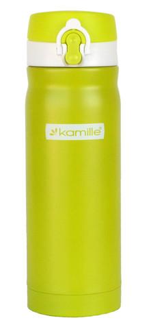 Термос-кружка Kamille 450 мл. зеленый