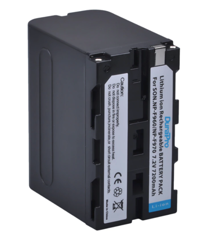 Аккумулятор Allytec NP-F960/NP-F970 для Sony 7200mAh