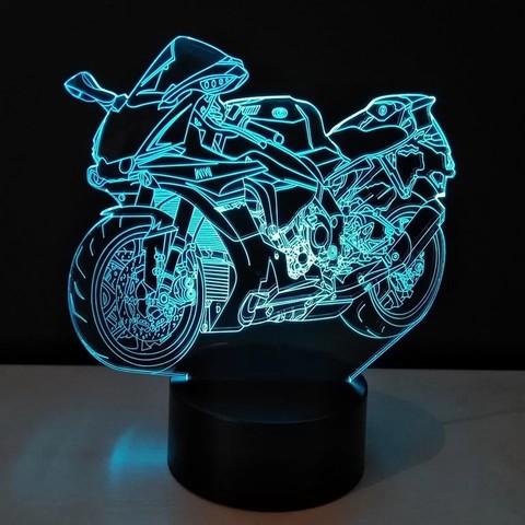 Лампа Cпортивный байк