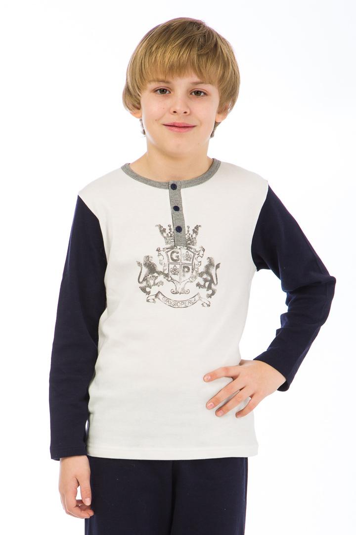 Хлопковый домашний костюм для мальчиков GrigioPerla (Для мальчиков)