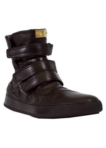 Кеды Robin's Jean черные высокие
