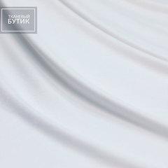 Белый вискозный трикотаж