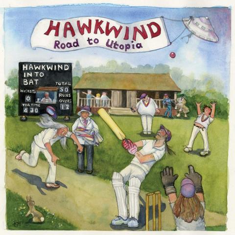 Hawkwind / Road To Utopia (LP)