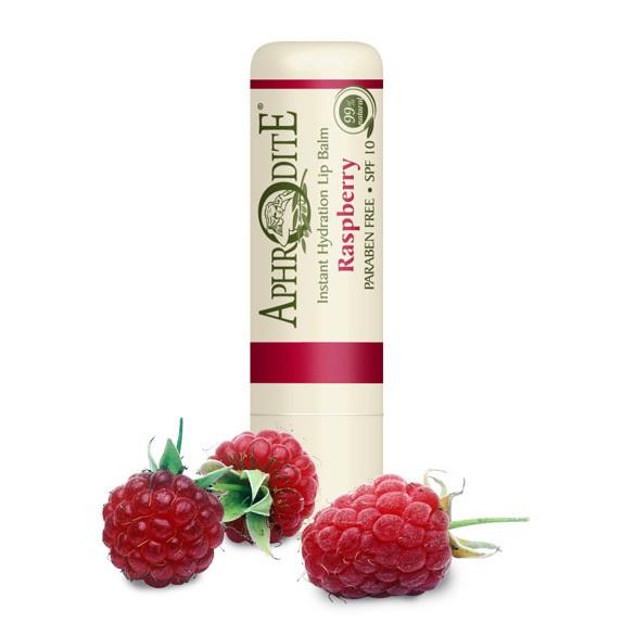 Бальзам для губ защитный с ароматом малины Aphrodite 4г