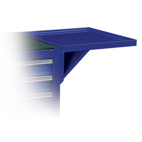 Полка навесная для инструментальных тележек, синяя МАСТАК 550-10457B