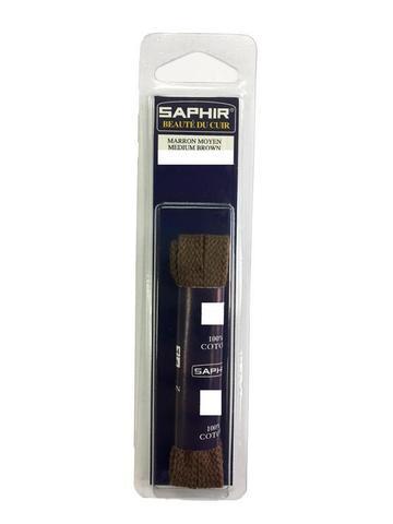 Шнурки Плоские 150см, ширина 8 мм  (4 цвета) SAPHIR
