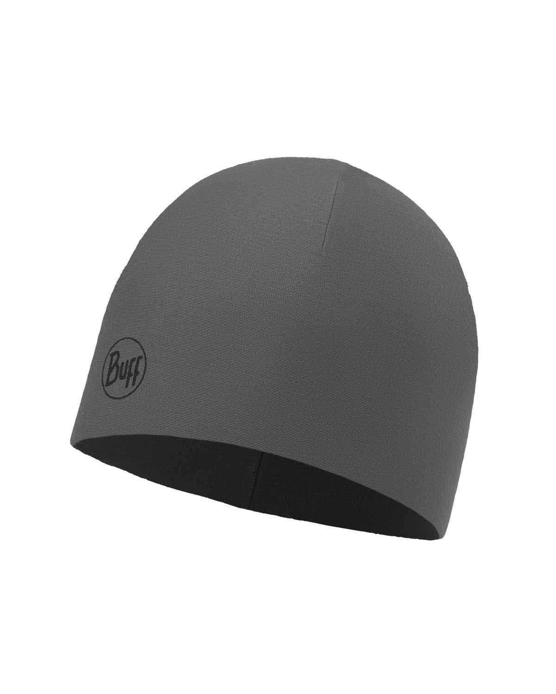 Тонкая шапка с флисовой подкладкой Buff Hat Polar Microfiber Solid Grey Castlerock