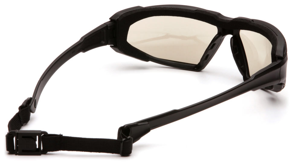 Очки баллистические тактические Pyramex Highlander SBB5080DT Anti-fog зеркально-серые 50%