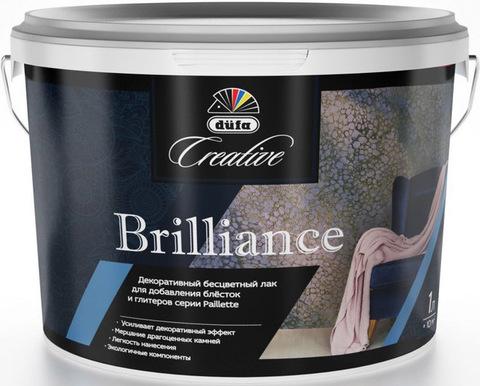 Dufa Creative Brilliance/Дюфа Креатив Бриллианс Декоративный бесцветный лак для добавления блесток и глиттеров
