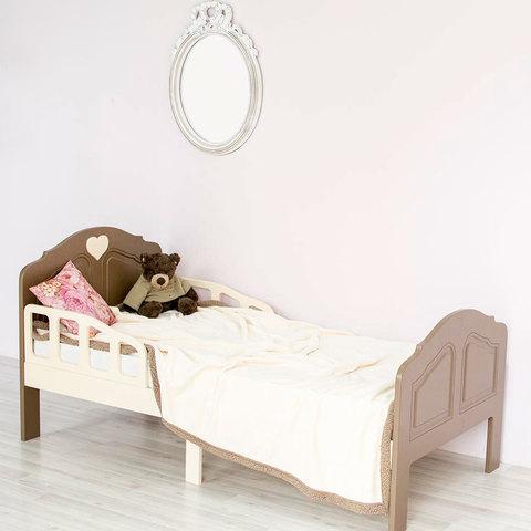 Кровать подростковая Феалта-baby Мотив, мокко