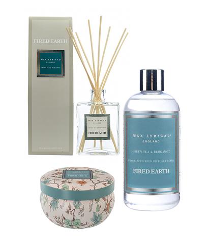 Арома-набор Зеленый чай и бергамот, Wax Lyrical