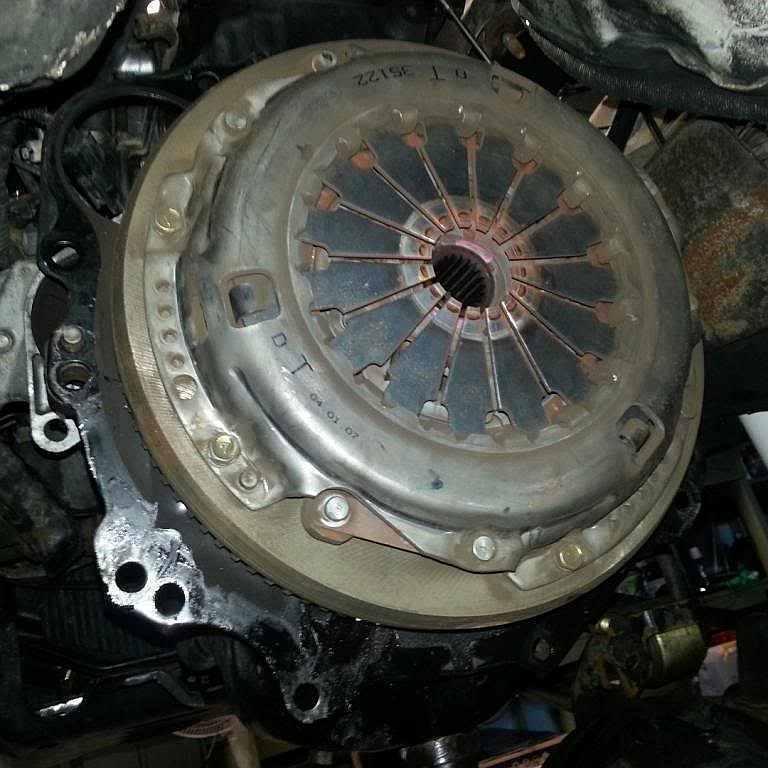 Замена сцепления Mitsubishi Pajero Sport фото-1