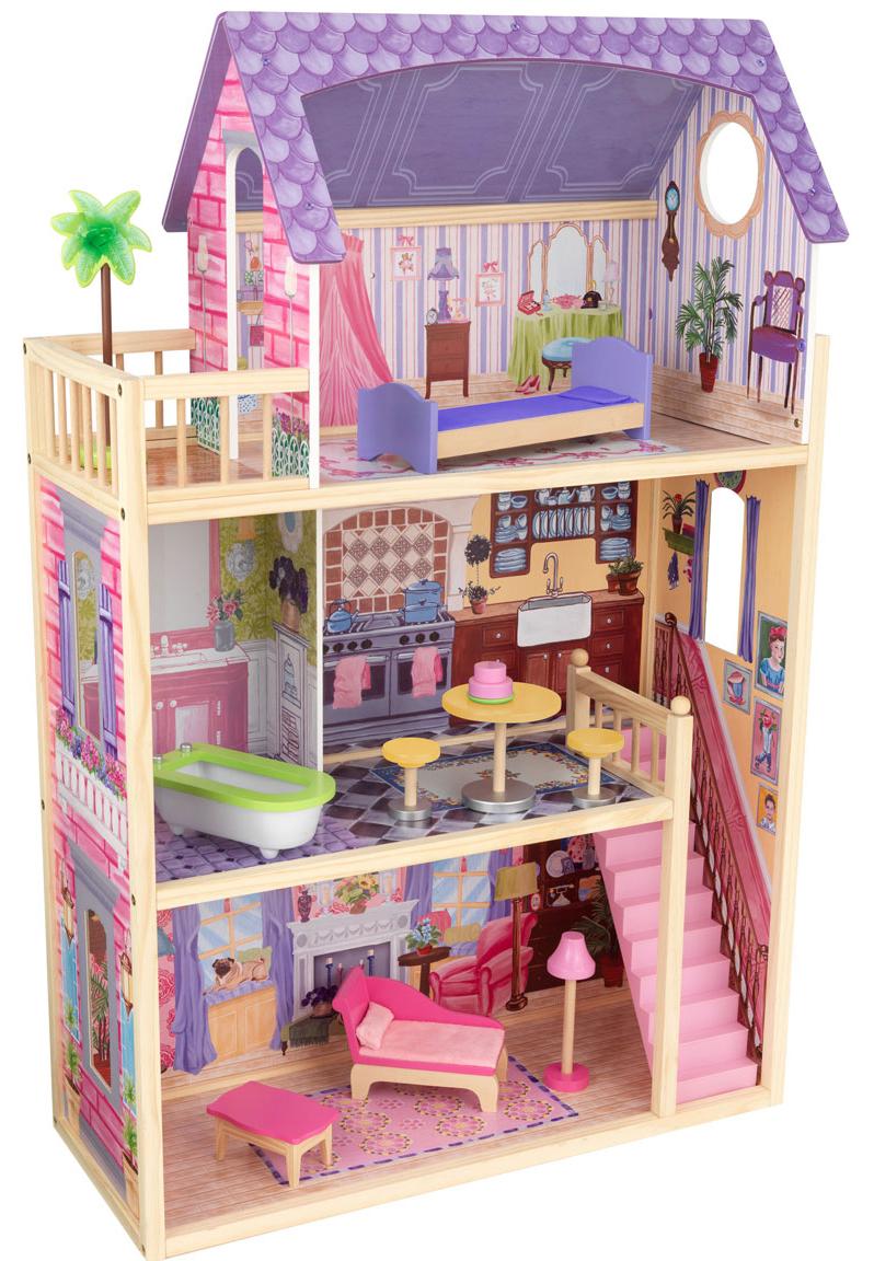 KidKraft Кайла Kayla - кукольный домик с мебелью
