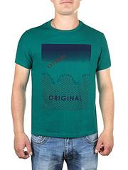 17615-3 футболка мужская, зеленая