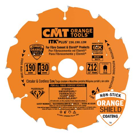 Диск пильный CMT 160x20x2,4/1,8 12° TCG Z=10 (DIA)