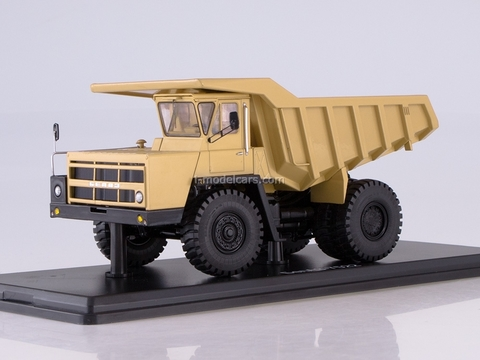BELAZ-7522 early dumper yellow 1:43 Start Scale Models (SSM)