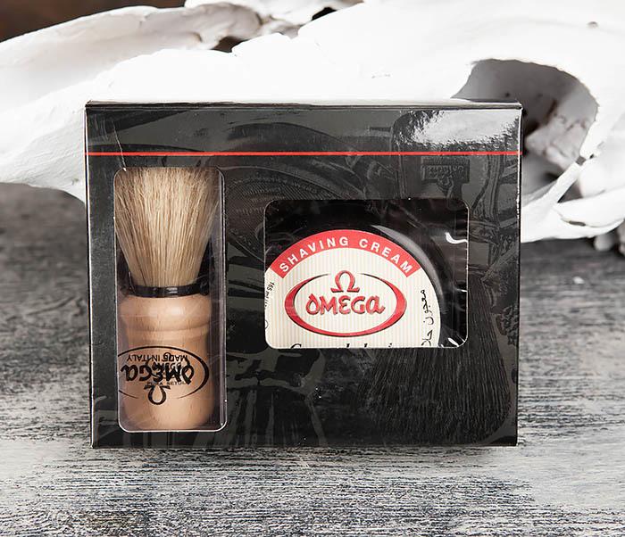 RAZ59.80005 Набор для бритья, помазок и крем фото 01