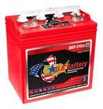Аккумулятор U.S.Battery US 8VGCHC XC2 ( 8V 183Ah / 8В 183Ач ) - фотография