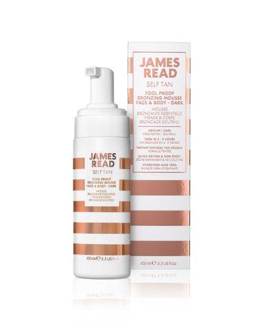 James Read Бронзирующий мусс для новичков темный Fool Proof Bronzing Mousse Face & Body Dark