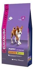 Корм для щенков средних пород Eukanuba Dog