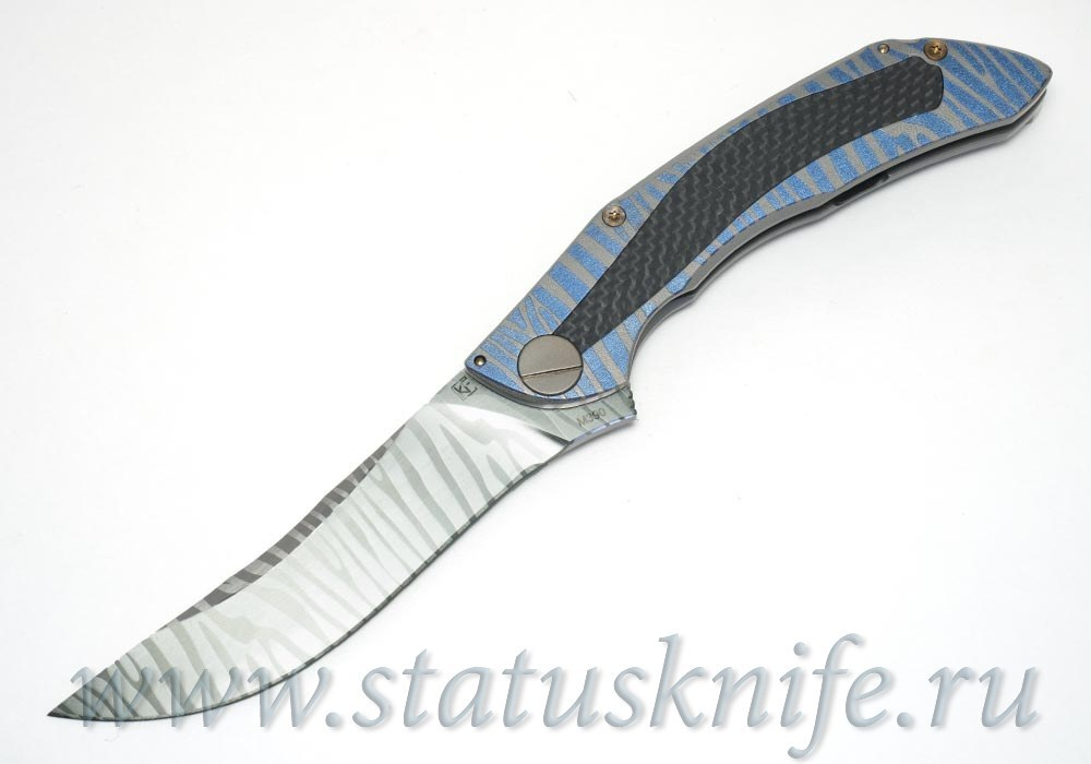 Нож CKF CUSTOM САБЛЯ Alexey Konygin One-Off