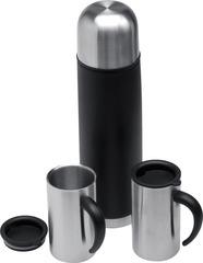 Набор S.Quire: термос с узким горлом и 2 кружки с крышками