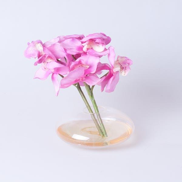 Орхидея в стекле лаванда 60054-20