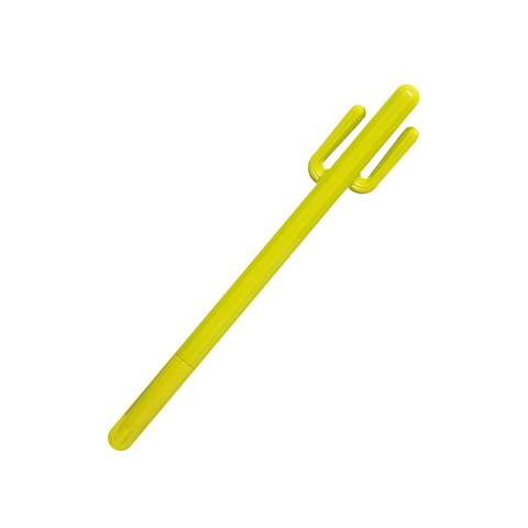Ручка Кактус Light green черная гелевая