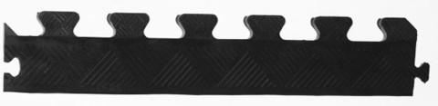 Бордюр резиновый для коврика 20 мм черный